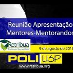 Reunião do Projeto Retribua – Apresentação dos Mentores aos Mentorandos
