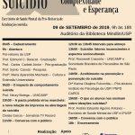 Evento PRG: Simpósio sobre Prevenção ao Suicídio: Complexidade e Esperança