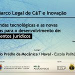 Palestra Novo Marco Legal de C&T e Inovação – 11/dez/2019 – 9h