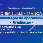 """Poli recebe palestra sobre """"Ecole Nationale Supérieure de Chimie"""" no dia 10 de março"""