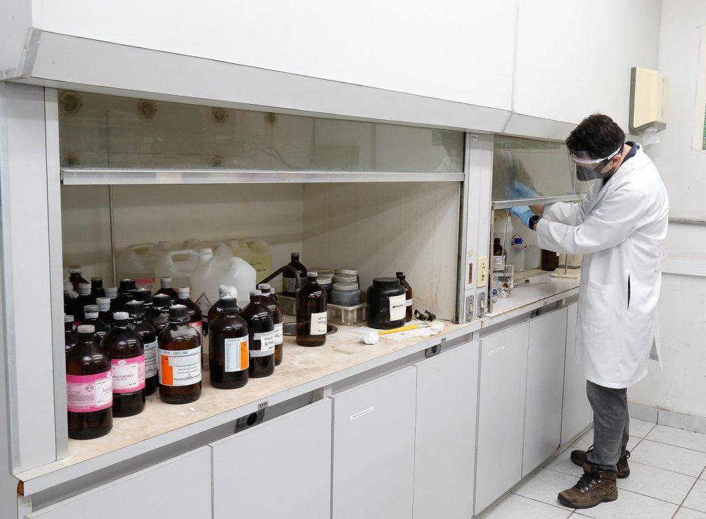 laboratório da Poli