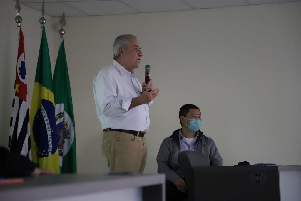 Cicero de Moura, professor da USP e coordenador do projeto